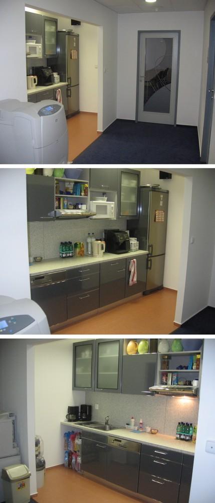 kuchyňský kout kanceláří