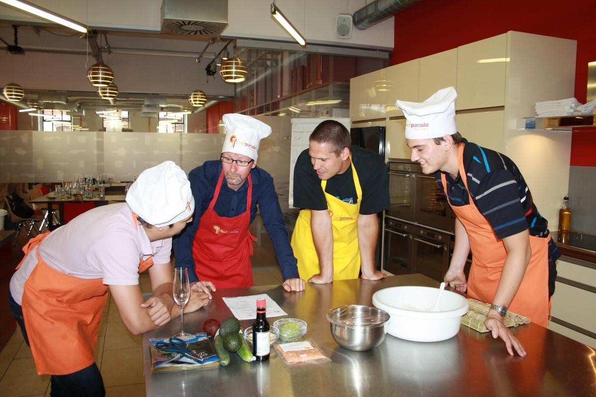 studio Chefparade škola vaření