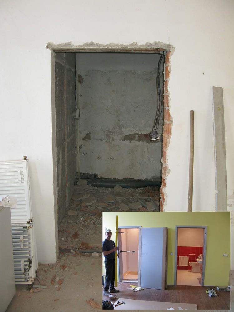 toalety před rekonstrukcí