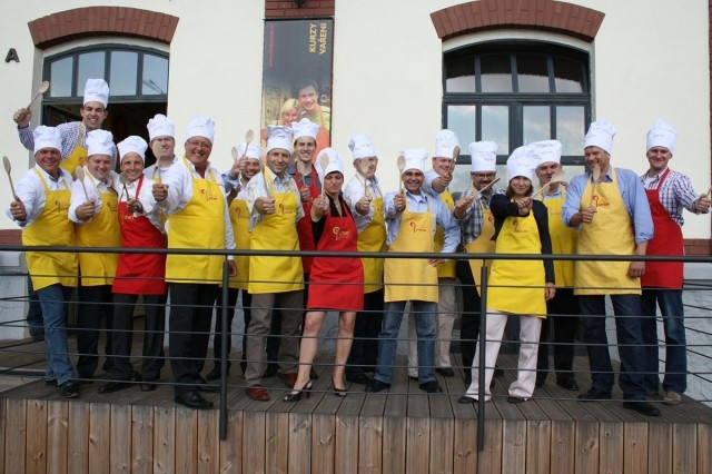 terasa studia Chefparade škola vaření