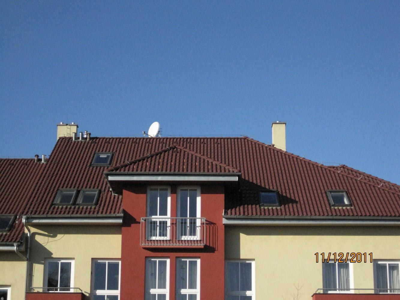 střecha objektů