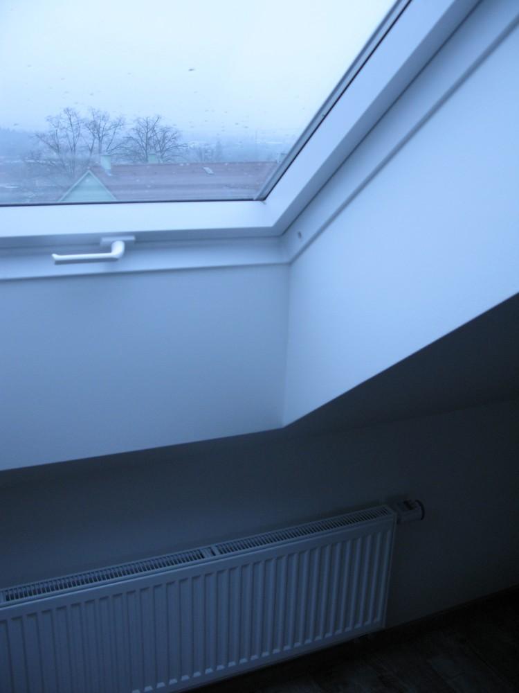 detail provádění - střešní okna