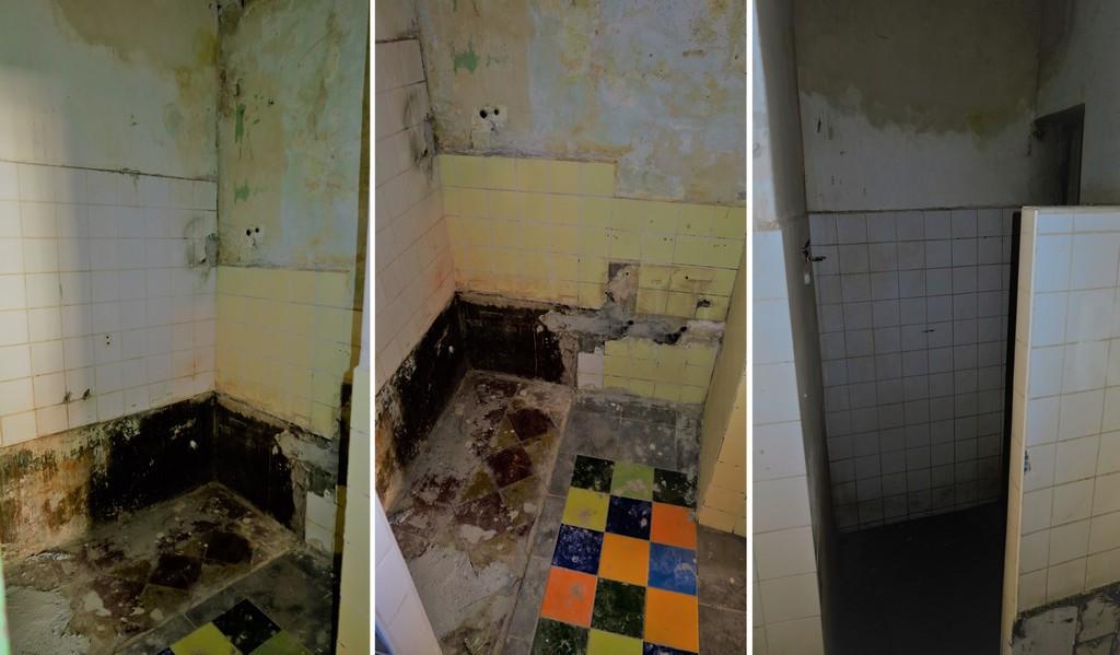 koupelna  původní stav před rekonstrukcí