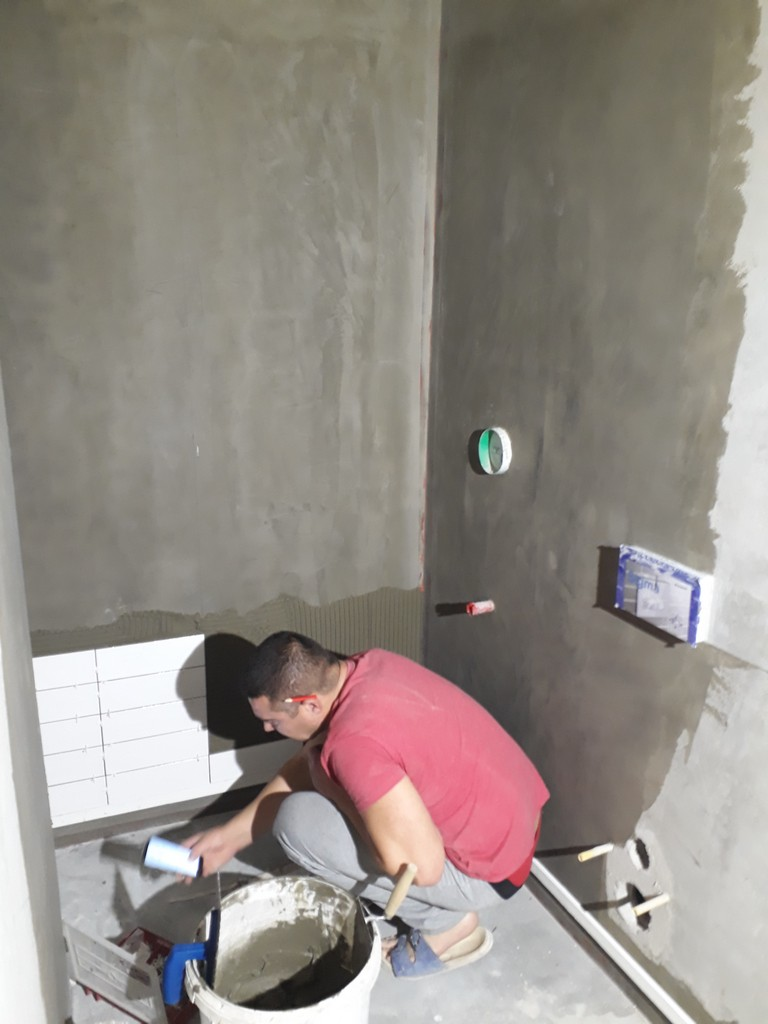 koupelna  obkládání