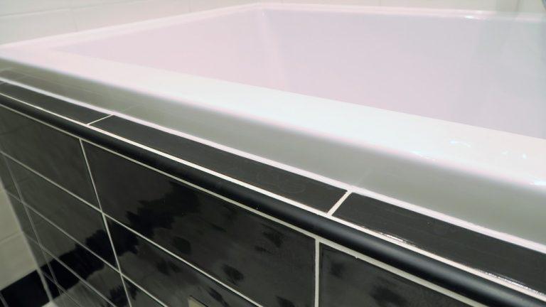 koupelna po rekonstrukci detail provádění