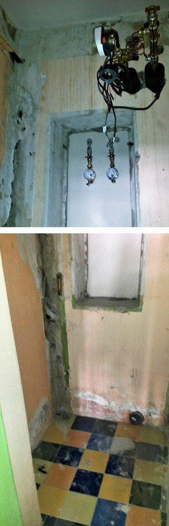 toaleta původní stav před rekonstrukcí