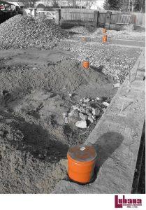 založení stavby rodinného domu vývody ležaté kanalizace