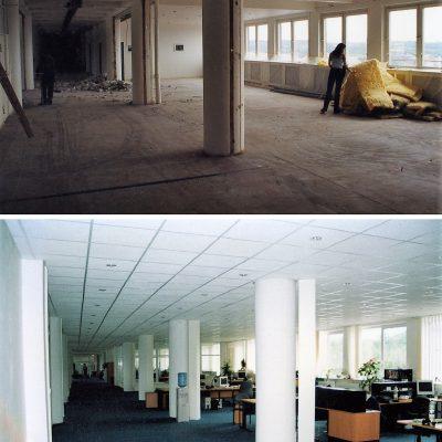 kanceláře OPEN SPACE Seznam.cz, a.s. 2002