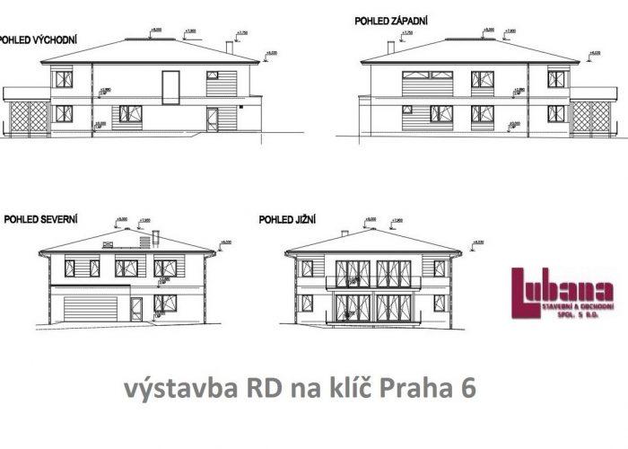 projekt rodinného domu - POHLEDY